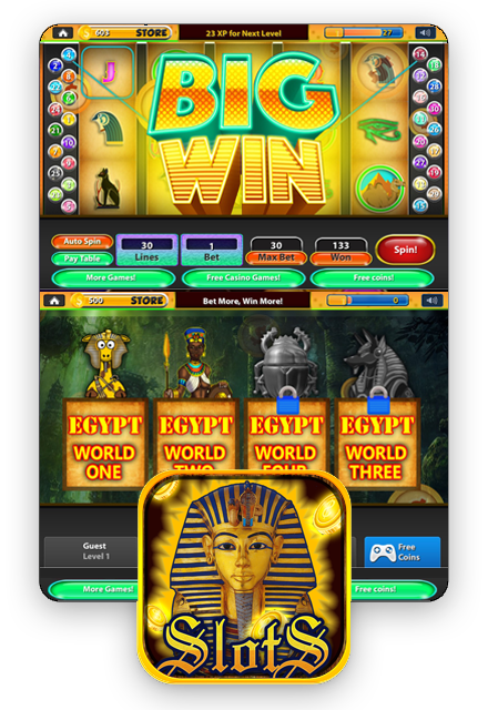 Slots Pharaoh's Way - Big Win Casino