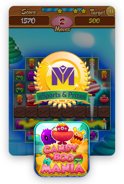 Candy Booo: Tournament Edition is the most funny puzzle match 3 game