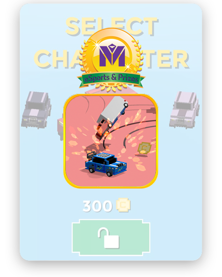Crash n Win will give you the opportunity to show your skills.