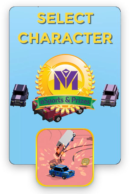 Crash n Win will give you the opportunity to show your skills